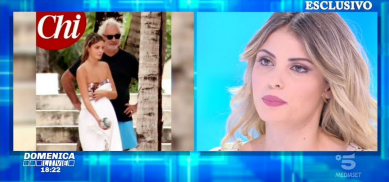 """Benedetta Bosi, ex fidanzata Flavio Briatore/ """"Mai andati oltre"""" (Domenica Live)"""